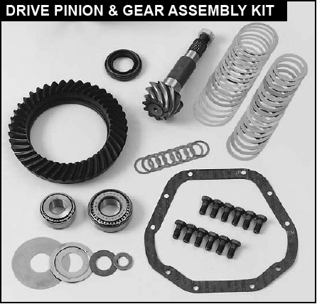 DANA 35 RING AND PINION KIT
