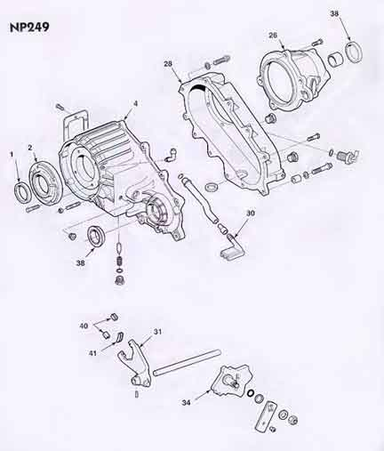 np246 transfer case wiring diagram