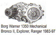 Parts for BW1350 Transfer Case