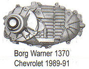 BW1370 Transfer Case Parts