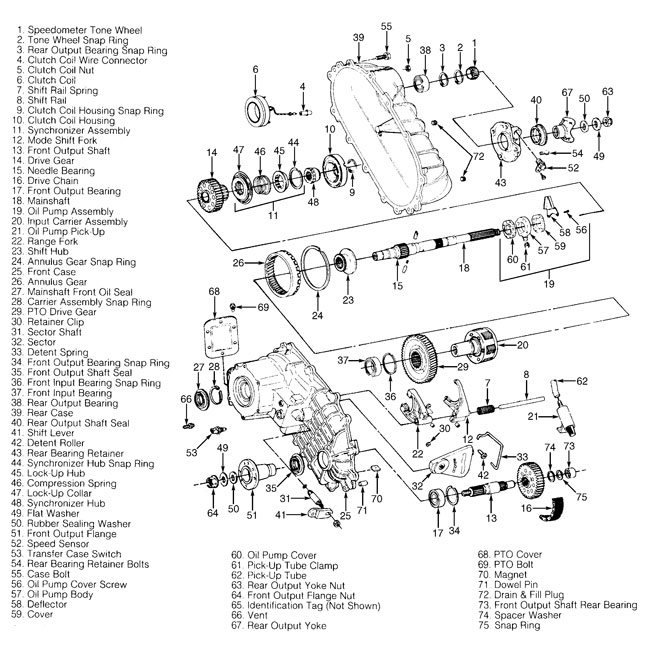 92 Ford F 150 Transfer Case Diagram Ford Wiring Diagrams Instructions