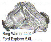 BW4404 Transfer Case Parts