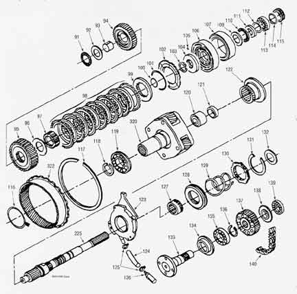 bw4406p1_large rebuild kit bw4406 transfer case and parts plus illustration drawing