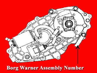 borg warner identification tag location