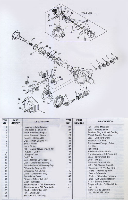 Dana 35 Differential Diagram on ford rear axle assembly