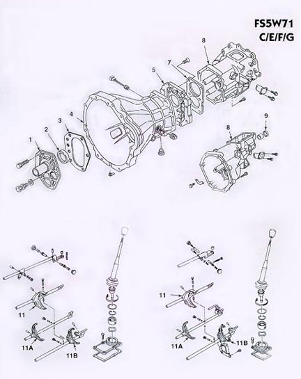 nissan an 4x4 transmission schematic