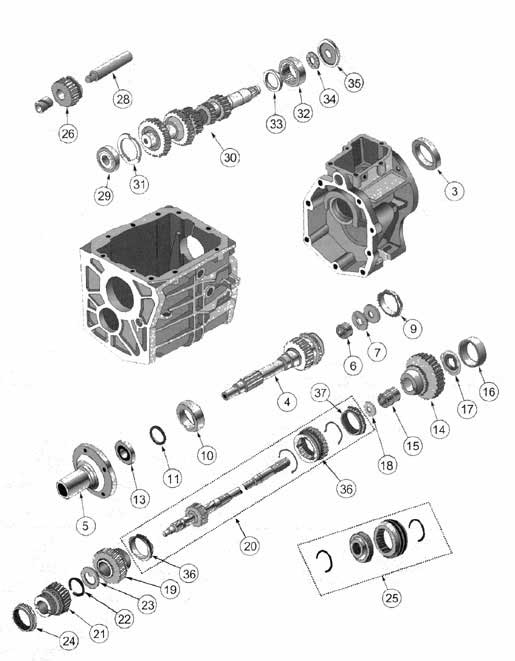 Borgwarnerdiagram additionally Transmission Parts Exploded View as well Jeep Cj5 Transmission Transfer Case likewise Index also HP PartList. on t90 transmission diagram