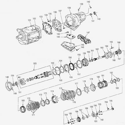 nash overdrive transmission illustrated parts drawings assiting you rh drivetrain com Doug Nash Overdrive SM465 Doug Nash Transmission