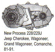 NP228 & 229 Transfer Case Parts