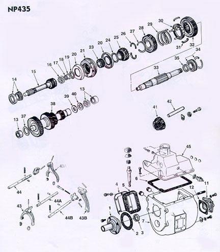 dodge np435 diagram experts of wiring diagram u2022 rh evilcloud co uk Dodge Ram 46Re Transmission Diagrams 98 Dodge Ram 1500 Transmission Diagram