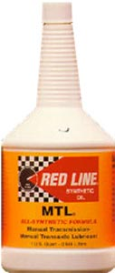 redline manual transmission fluid
