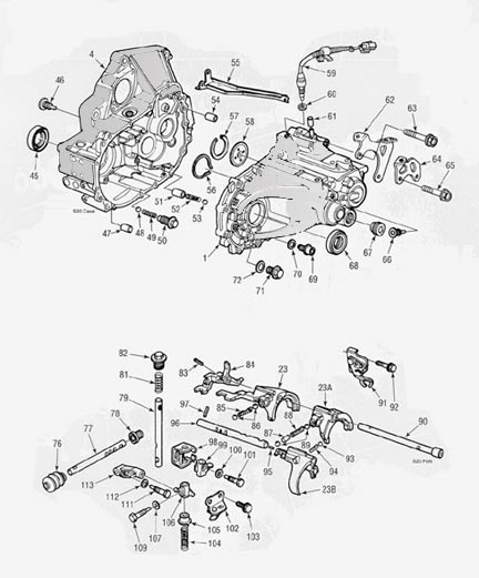 honda s20 transmission illustrated parts drawings assiting you in rh drivetrain com Honda Odyssey Transmission Solenoid Honda Oddysey Transmission Schematic