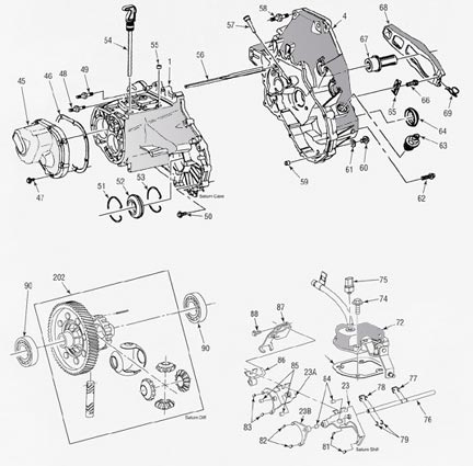 saturn manual transmission illustrated parts drawings assiting you rh drivetrain com saturn transmission parts diagram saturn ion transmission diagram