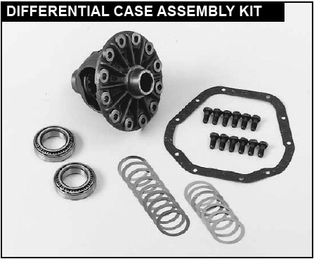 dana 35 differential case assembly kit