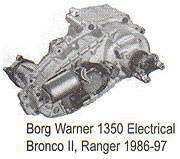 BW1350 Electric Ship Transfer Case Parts