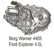BW4405 Transfer Case Parts