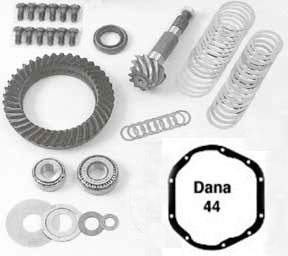 dana 44 ring pinion kit and differential parts see whats in the kit.