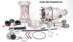 Gear Vendors GM Overdrive Kit Chevrolet Tubo 350, 20% More Mileage
