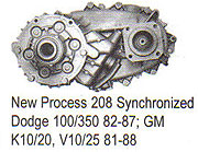 NP208 Transfer Case Parts