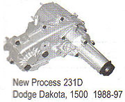 Dodge NP231D Transfer Case Parts