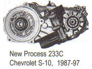 Chevrolet NP233C Transfer Case Parts