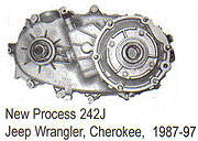 Jeep NP242J Transfer Case Parts