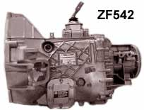 zfs542 ford manual transmission parts