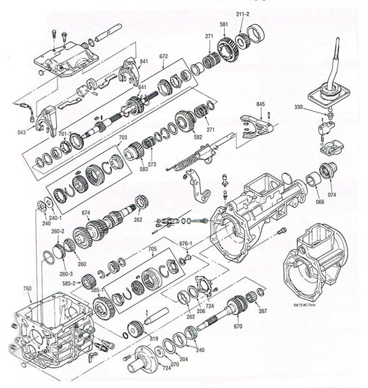 T5 world Class Parts Illustration