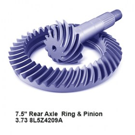 7.5_ Rear Axle  Ring _ Pinion  3.73 8L5Z4209A