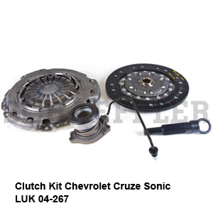 Clutch Kit Chevrolet Cruze Sonic LUK 04-267.jpg