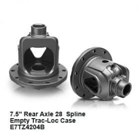 7.5_ Rear Axle 28  Spline  Empty Trac-Loc Case    E7TZ4204B9
