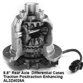 8.8_ Rear Axle  Differential Cases - Traction Positraction Enhancing   AL3Z4026A9