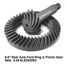 8.8_ Rear Axle Ford Ring _ Pinion Gear Sets  4.45 8L5Z4209D9