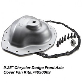9.25_ Chrysler Dodge Front Axle Cover Pan Kits.740300098