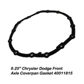 9.25_ Chrysler Dodge Front Axle Coverpan Gasket 400118159