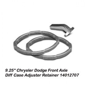 9.25_ Chrysler Dodge Front Axle Diff Case Adjuster Retainer 140127079