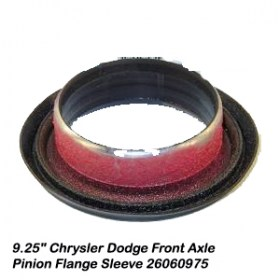 9.25_ Chrysler Dodge Front Axle Pinion Flange Sleeve 260609755