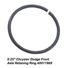 9.25_ Chrysler Dodge Front Axle Retaning Ring 400119699
