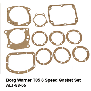 Borg Warner T85 3 Speed Gasket Set ALT-88-554