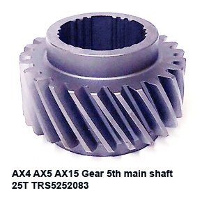 AX4 AX5 AX15 Gear 5th main shaft 25T TRS5252083