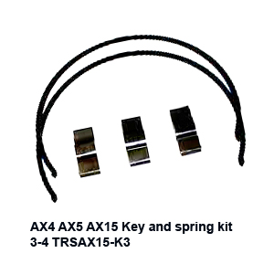 AX4 AX5 AX15 Key and spring kit  3-4 TRSAX15-K3