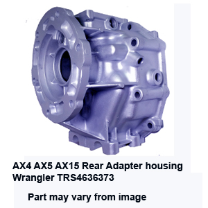 AX4 AX5 AX15 Rear Adapter housing  Wrangler TRS4636373
