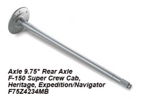 Axle 9.75_ Rear Axle F-150 Super Crew Cab, Heritage, Expedition_Navigator F75Z4234MB