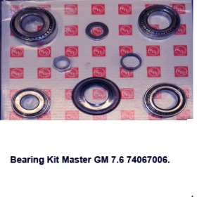 Bearing Kit Master GM 7.6 740670064