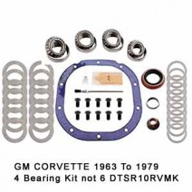 Bearing-Overhaul-Kit-GM-CORVETTE-1963-To-1979-4-Bearing-Kit-not-6-DTSR10RVMK