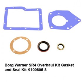 Borg Warner SR4 Overhaul Kit Gasket and Seal Kit K100805-8