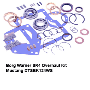Borg Warner SR4 Overhaul Kit Mustang DTSBK124WS