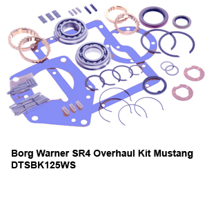 Borg Warner SR4 Overhaul Kit Mustang DTSBK125WS