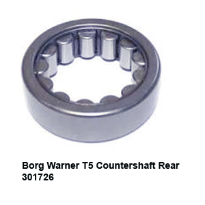 Borg Warner T5 Countershaft Rear 301726