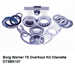 Borg Warner T5 Overhaul Kit Chevette DTSBK107